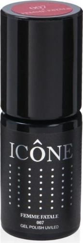 Icone Gel Polish UV/LED lakier hybrydowy 007 Femme Fatale 6ml