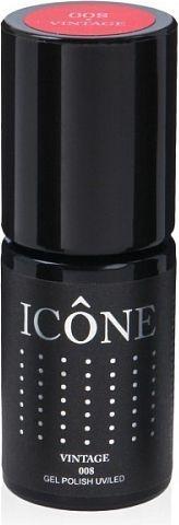 Icone Gel Polish UV/LED lakier hybrydowy 008 Vintage 6ml