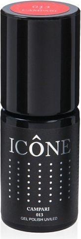 Icone Gel Polish UV/LED lakier hybrydowy 013 Campari 6ml
