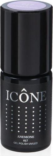 Icone Gel Polish UV/LED lakier hybrydowy 017 Anemone 6ml