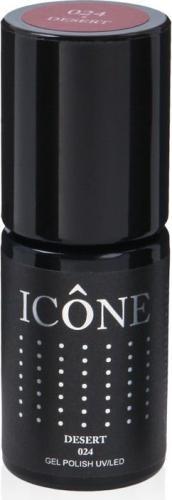 Icone Gel Polish UV/LED lakier hybrydowy 024 Desert 6ml