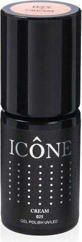 Icone Gel Polish UV/LED lakier hybrydowy 025 Cream 6ml