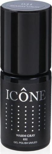 Icone Gel  Polish UV/LED lakier hybrydowy 031 Warm Gray 6ml