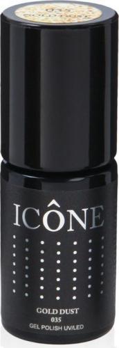 Icone Gel Polish UV/LED lakier hybrydowy 035 Gold Dust 6ml