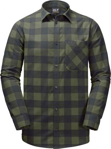 Jack Wolfskin Koszula męska Red River Shirt zielona r. XL