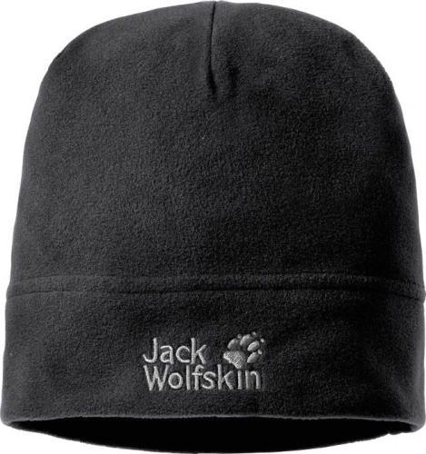 Jack Wolfskin Czapka unisex Real Stuff Cap czarna