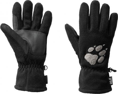 Jack Wolfskin Rękawiczki zimowe unisex Paw Gloves czarne r.  S