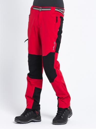 Milo Spodnie trekkingowe męskie Brenta Tomato Red/Black r. M