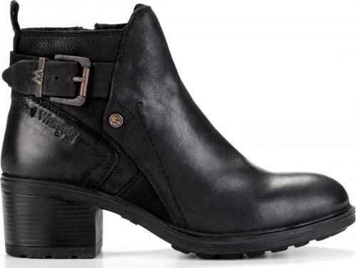Wrangler Botki damskie Vail Ankle WF2336101 Black r. 41