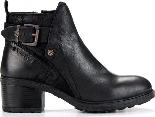 Wrangler Botki damskie Vail Ankle WF2336101 Black r. 39