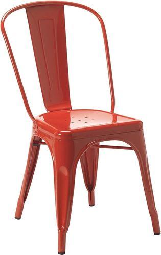 King Home Krzesło Tower czerwone