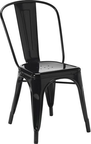 King Home Krzesło Tower czarne