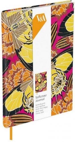 Museums & Galleries Notatnik ozdobny Butterfly Print