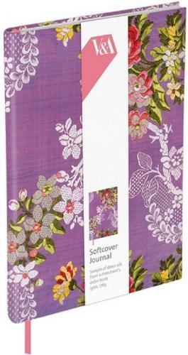 Museums & Galleries Notatnik ozdobny Purple Dress Fabric