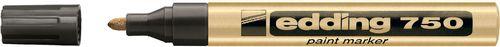 Amex Marker olejowy Edding 750 złoty okrągła końcówka 2-4mm