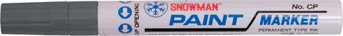 Snowman Pisak olejowy gruby szary