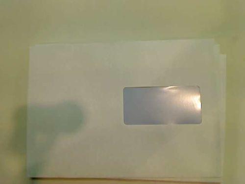 A&G Koperty C5 SK białe z oknem prawym  500 sztuk (B20D60)