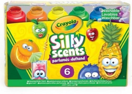 Crayola Farby pachnące Silly Scents 6 kolorów (291368)