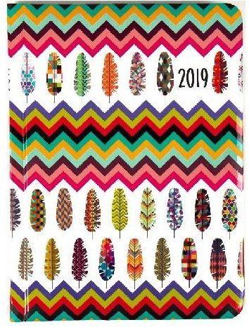Albi Kalendarz tygodniowy B6 2019 Pióra ALBI