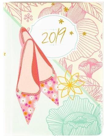 Albi Kalendarz dzienny 2019 Pantofelki ALBI