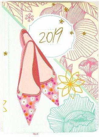 Albi Kalendarz kieszonkowy 2019 Pantofelki ALBI