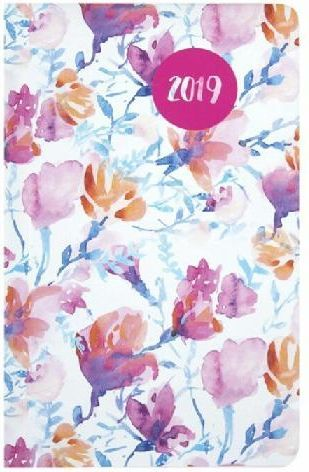 Albi Kalendarz kieszonkowy 2019 Kwiaty ALBI