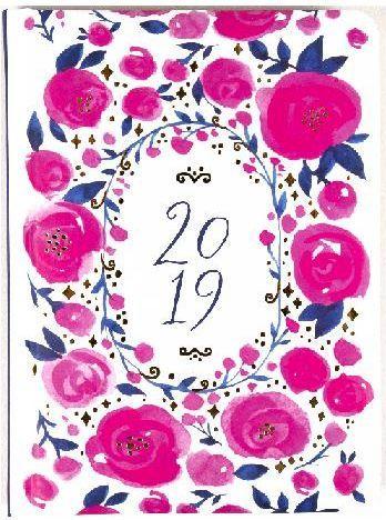 Albi Kalendarz tygodniowy B6 2019 Róże ALBI