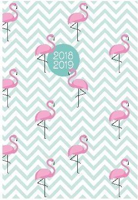 Albi Kalendarz kieszonkowy 2019 Flamingi ALBI