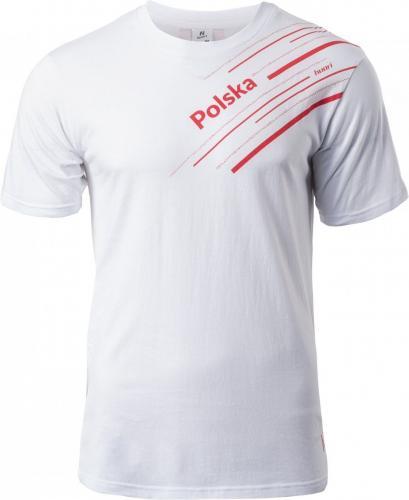 Huari Koszulka męska Sempi Poland Series biało-czerwona r. XXL