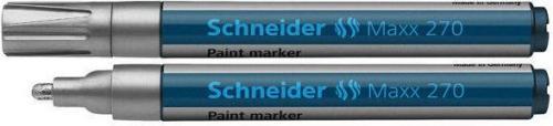 Schneider Marker olejowy 270, srebrny (127054)
