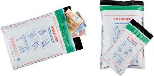 Amersafe Koperta bezpieczna bankowa B5 z kieszenią  50 sztuk