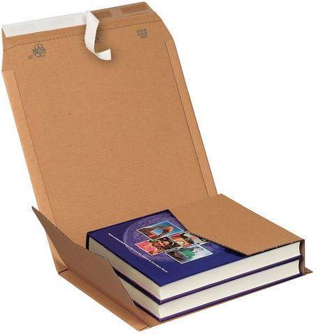 PRESSEL Koperta na książki z paskiem samoprzylepnym A4+ opakowanie 25 sztuk