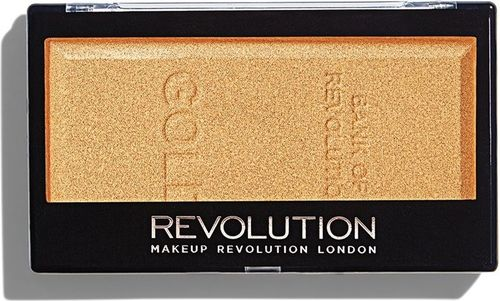 Makeup Revolution MAKEUP REVOLUTION_Ingot Highlighter rozświetlacz do twarzy Gold 12g