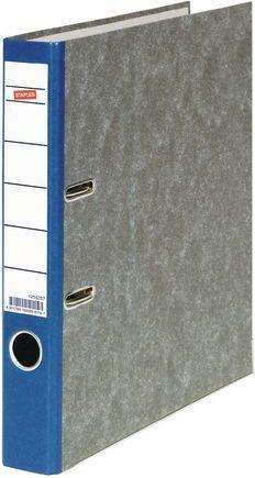 Segregator Staples dźwigniowy A4 50mm niebieski (C12551)