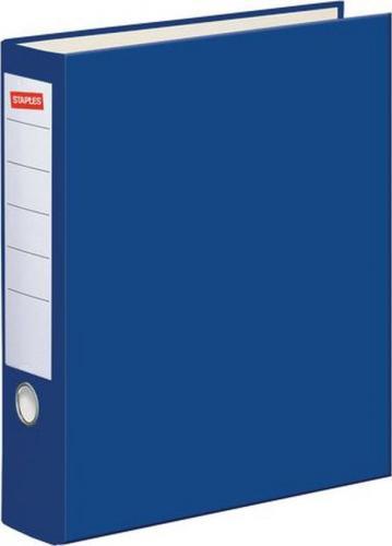 Segregator Staples Standard dźwigniowy A4 80mm niebieski (C13751)