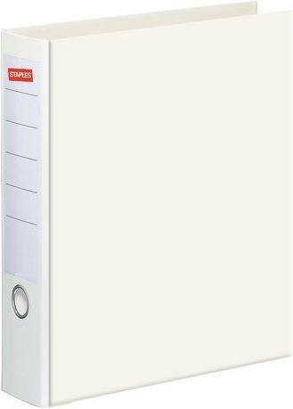 Segregator Staples Standard dźwigniowy A4 80mm biały (C13750)