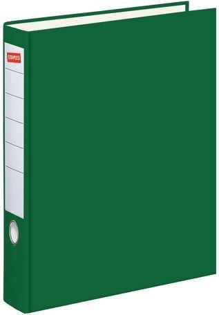 Segregator Staples Standard dźwigniowy A4 50mm zielony (C13553)