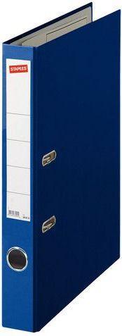 Segregator Staples Standard dźwigniowy A4 50mm niebieski (C13551)