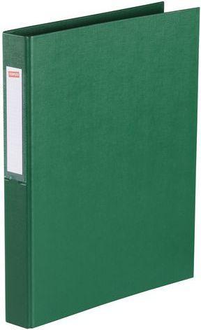 Segregator Staples 2-ringowy A4 25mm zielony (C18423)