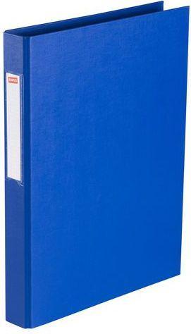 Segregator Staples 2-ringowy A4 25mm niebieski (C18421)