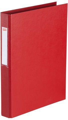 Segregator Staples 2-ringowy A4 25mm czerwony (C18422)