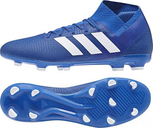 Adidas Buty piłkarskie Nemeziz 18.3 FG niebieskie r. 44 (DB2109)
