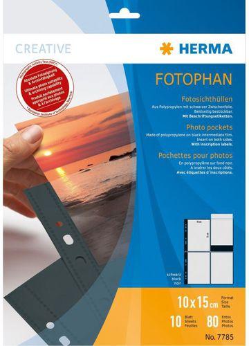 Herma Folia archiwizacyjna 10x15/10szt (7785)