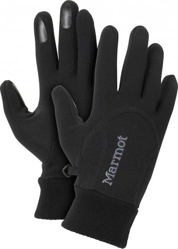 Marmot rękawiczki damskie Power Stretch Glove czarne r. XS