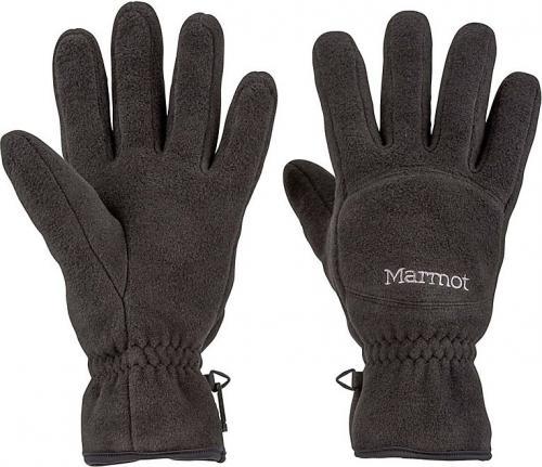 Marmot rękawiczki męskie Fleece Glove czarne r. L