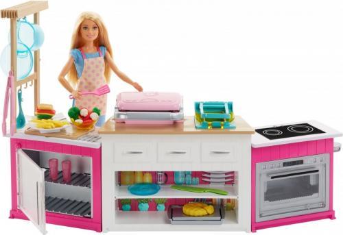 Mattel Barbie Idealna kuchnia - Zestaw (FRH73)