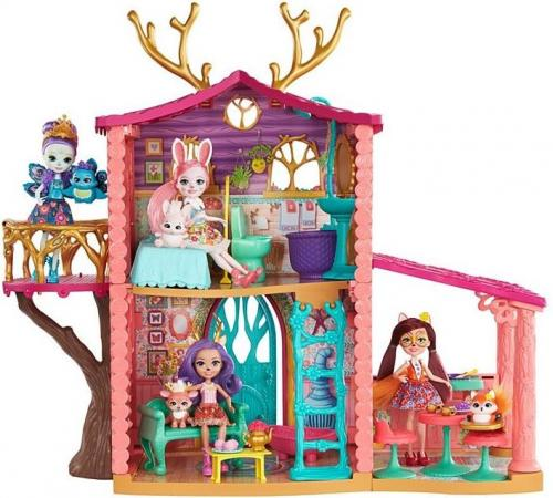 Mattel Enchantimals. Domek jelonków z lalką (FRH50)