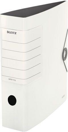 Segregator Leitz Segregator 180° ACTIVE SOLID 75mm, biały (ES3830)