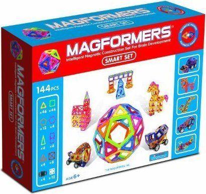 Magformers Klocki magnetyczne Smart 144el.