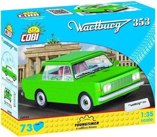 Cobi Cars Wartburg 353 73 klocki
